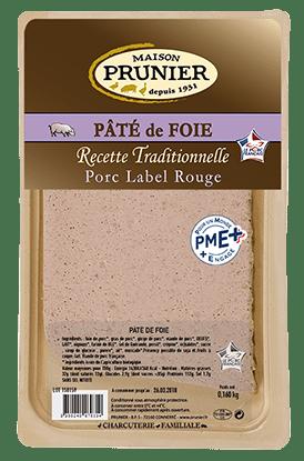 Pâté de foie label rouge Maison Prunier