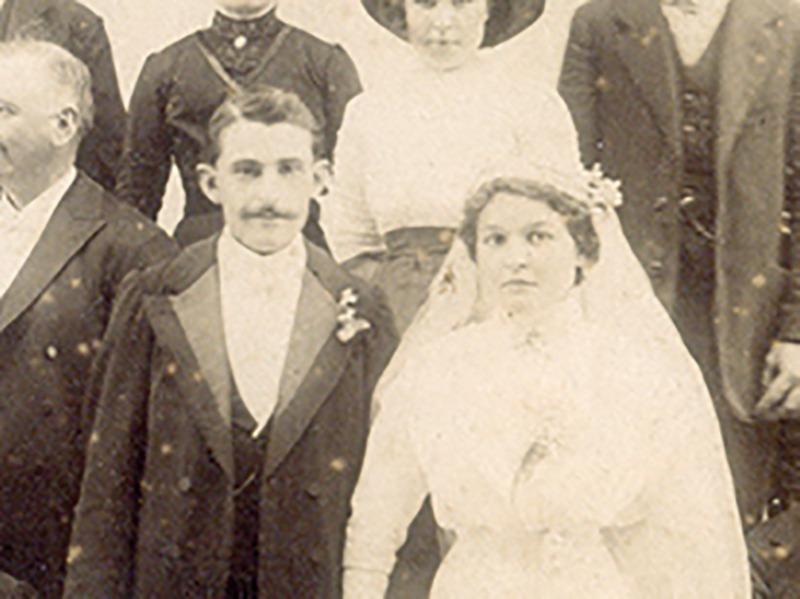Maurice-Jules Prunier et son épouse Juliette