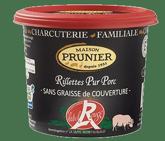 Rillettes pur porc - Recette Oeufs brouillés aux rillettes pur porc